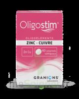 OLIGOSTIM Zinc Cuivre Cpr subl T/40 à EPERNAY