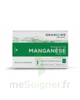 GRANIONS DE MANGANESE 0,1 mg/2 ml S buv en ampoule 30Amp/2ml à EPERNAY