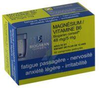 MAGNESIUM/VITAMINE B6 BIOGARAN CONSEIL 48 mg/5 mg, comprimé pelliculé à EPERNAY