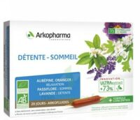 Arkofluide Bio Ultraextract Solution buvable détente sommeil 20 Ampoules/10ml à EPERNAY