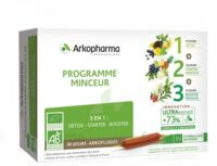 Arkofluide Bio Ultraextract Coffret programme minceur 3x10 Ampoules/10ml à EPERNAY