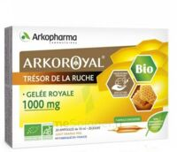 Arkoroyal Gelée royale bio 1000 mg Solution buvable 20 Ampoules/10ml à EPERNAY