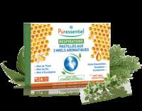 Puressentiel Respiratoire Pastilles Respiratoire aux 3 miels aromatiques - 18 pastilles à EPERNAY