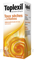 TOPLEXIL 0,33 mg/ml, sirop 150ml à EPERNAY