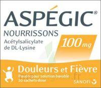 ASPEGIC NOURRISSONS 100 mg, poudre pour solution buvable en sachet-dose à EPERNAY