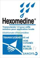 HEXOMEDINE TRANSCUTANEE 1,5 POUR MILLE, solution pour application locale à EPERNAY
