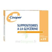 SUPPOSITOIRES A LA GLYCERINE COOPER Suppos en récipient multidose adulte Sach/25 à EPERNAY