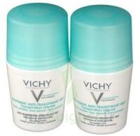 VICHY TRAITEMENT ANTITRANSPIRANT BILLE 48H, fl 50 ml, lot 2 à EPERNAY