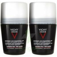 VICHY ANTI-TRANSPIRANT HOMME Bille anti-trace 48h LOT à EPERNAY