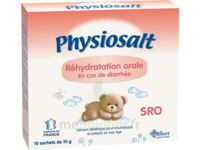 PHYSIOSALT REHYDRATATION ORALE SRO, bt 10 à EPERNAY
