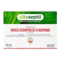 OLIOSEPTIL - Capsules Huiles essentielles à respirer - Nez dégagé à EPERNAY