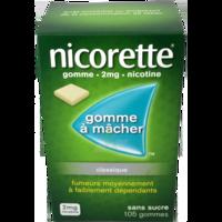 NICORETTE 2 mg Gom à mâcher médic sans sucre menthe fraîche Plq/105gom à EPERNAY