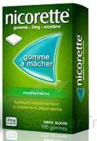 NICORETTE 2 mg Gom à mâcher médic sans sucre menthe fraîche Plq/30gom à EPERNAY