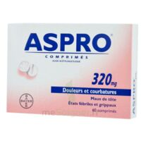ASPRO 320 mg, comprimé à EPERNAY
