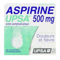 ASPIRINE UPSA 500 mg, comprimé effervescent à EPERNAY