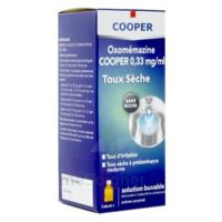 OXOMEMAZINE H3 SANTE 0,33 mg/ml SANS SUCRE, solution buvable édulcorée à l'acésulfame potassique à EPERNAY