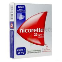 Nicoretteskin 25 mg/16 h Dispositif transdermique B/28 à EPERNAY