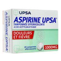 ASPIRINE UPSA TAMPONNEE EFFERVESCENTE 1000 mg, comprimé effervescent à EPERNAY