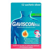 GAVISCONELL Suspension buvable sachet-dose menthe sans sucre 12Sach/10ml à EPERNAY