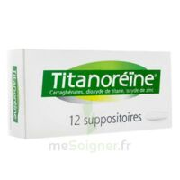TITANOREINE Suppositoires B/12 à EPERNAY
