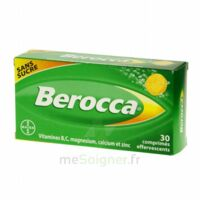 Berocca Comprimés effervescents sans sucre T/30 à EPERNAY