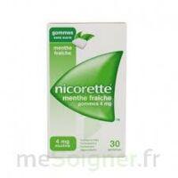 NICORETTE 4 mg Gom à mâcher médic sans sucre menthe fraîche Plq/30gom à EPERNAY