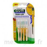 GUM TRAV - LER, 1,3 mm, manche jaune , blister 4 à EPERNAY