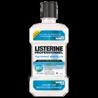Listerine Professionnel Bain bouche traitement sensibilité 500ml à EPERNAY