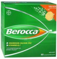 Berocca Comprimés effervescents sans sucre T/60 à EPERNAY