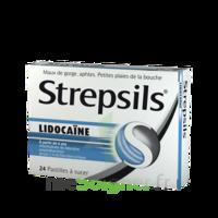 Strepsils lidocaïne Pastilles Plq/24 à EPERNAY
