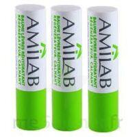 Amilab Baume labial réhydratant et calmant lot de 3 à EPERNAY