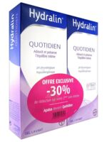 Hydralin Quotidien Gel lavant usage intime 2*200ml à EPERNAY