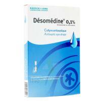 DESOMEDINE 0,1 % Collyre sol 10Fl/0,6ml à EPERNAY