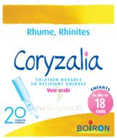 Boiron Coryzalia Solution buvable unidose B/20 à EPERNAY